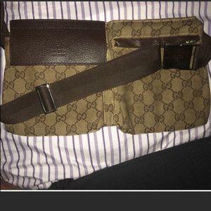 Gucci waist belt bag.